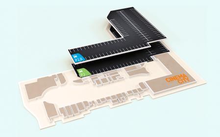 Explorează harta interactivă Mega Mall