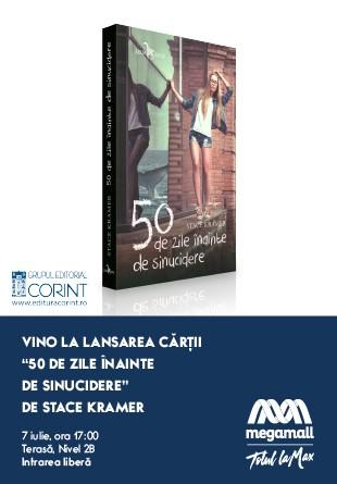 Editura Corint lansează ultimul roman a lui Stace Kramer la Mega Mall