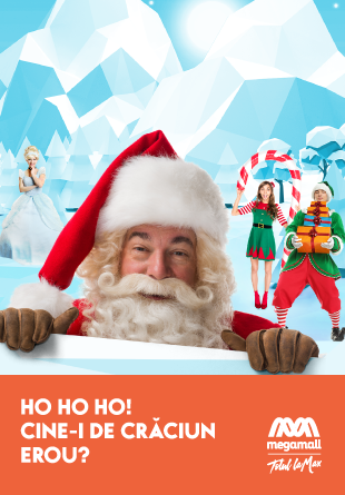 Crăciunul copiilor prinde viață la Mega Mall