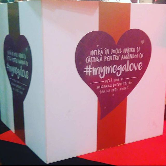 130 presents in this big box will go to one lucky winner! That's right - 130 prizes in our heart! #MyMegaLove
