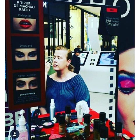 @lolasbox at Beauty Days in #MyMegaMall  It was a make-up full weekend for us!